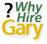 Why Hire Gary? button